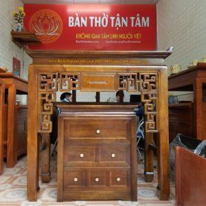 bàn thờ đứng gỗ gụ