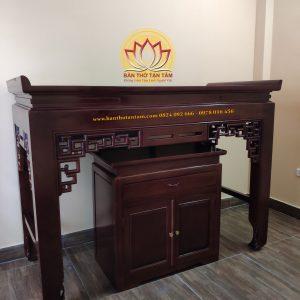 bàn thờ gỗ gõ