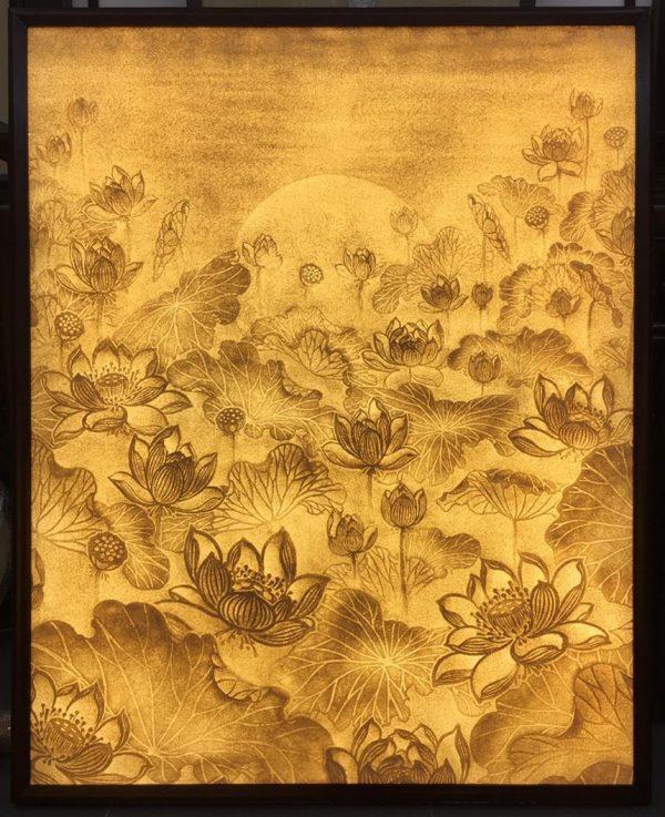 tranh giấy dừa m7