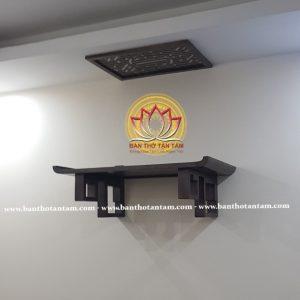 bàn thờ treo gỗ sồi