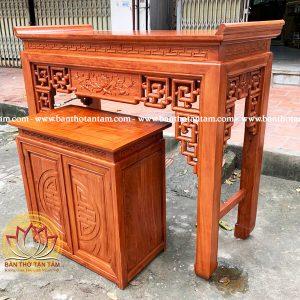 bàn thờ gỗ hương đá