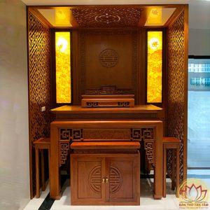 phòng thờ đẹp hiện đại